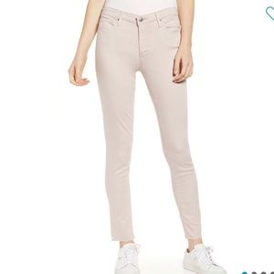 AG The Legging Ankle Skinny Jeans pale pink